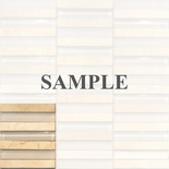 Sample Crema Marble Glass Blends Mosaic Tile
