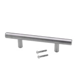"5"" Inch Solid Stainless Steel T Bar Pull Handle"