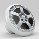 Car Rim Wheel Design Ceramic Knob Vanity Design 2