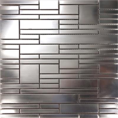 Matte Industrial Style Satin Nickel Stainless Steel