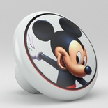 Disney Mickey Mouse Ceramic Knob Design 3