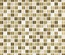 Tuscany Travertine Cream Beige Glass Blends Mosaic Tile