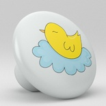 Cute Chicken Ceramic Knob Nursery