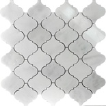 White Marble Natural Stone Moroccan Pattern Mosaic Tile