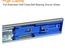 18 Inch Full Extension Soft Close Ball Bearing Drawer Slides Kitchen Cabinet