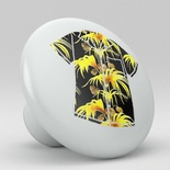 Tropical Floral Hawaii Shirt Ceramic Knob Design 13