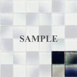 Sample Blue Rustic Glass Blends Mosaic