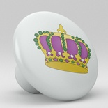 Cute Crown Ceramic Knob