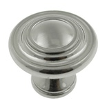 "1-1/4"" Inch Satin Nickel Knob"