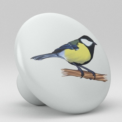 Bird Ceramic Knob Design 1