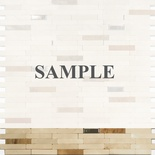 Sample Crema Marble And Metal Insert Blends Mosaic Tile