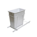 10-1/2 in. W x 18 in. D x 22 in. H Single 35 Qt. Pull-Out Bottom Mount Waste Container