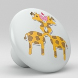 Cute Giraffe Ceramic Knob Nursery