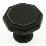 "1-1/8"" Inch Oil Rubbed Bronze Knob"
