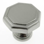 "1-1/8"" Inch Satin Nickel Knob"