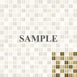 Sample Tuscany Travertine Cream Beige Glass Blends Mosaic Tile