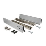Metal Drawer Box System - 18 Inch Soft Close Full Extension Slides