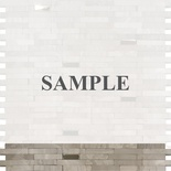 Sample White Oak Marble Gray And Metal Insert Blends Mosaic Tile