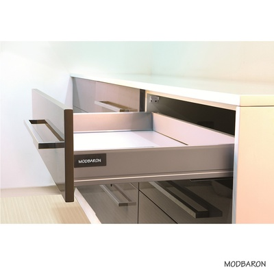 Metal Drawer Box System - 20 Inch Soft Close Full Extension Slides