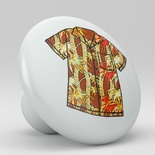 Yellow Tropical Floral Hawaii Shirt Ceramic